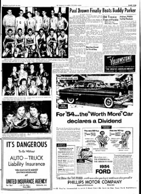The Courier News from Blytheville, Arkansas on January 18, 1954 · Page 9