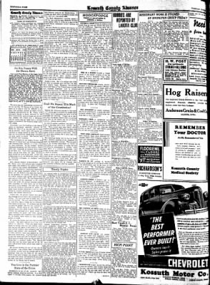 Kossuth County Advance from Algona, Iowa on June 20, 1939 · Page 6