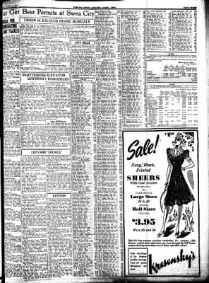 Kossuth County Advance from Algona, Iowa on July 18, 1939 · Page 3
