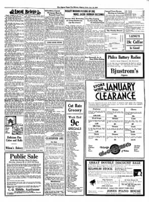 The Algona Upper Des Moines from Algona, Iowa on January 18, 1934 · Page 7