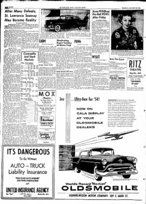 The Courier News from Blytheville, Arkansas on January 19, 1954 · Page 8