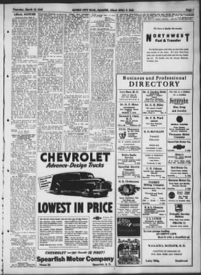 Queen City Mail from Spearfish, South Dakota on March 18, 1948 · Page