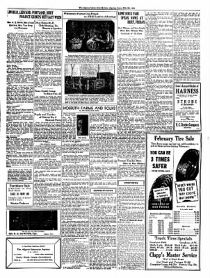 The Algona Upper Des Moines from Algona, Iowa on February 22, 1934 · Page 7