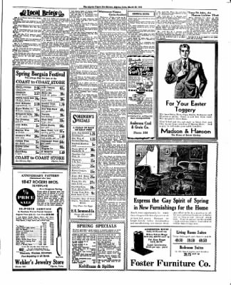 The Algona Upper Des Moines from Algona, Iowa on March 22, 1934 · Page 9