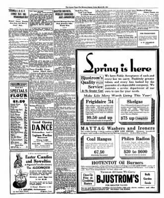 The Algona Upper Des Moines from Algona, Iowa on March 29, 1934 · Page 5