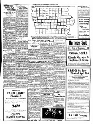 The Algona Upper Des Moines from Algona, Iowa on April 5, 1934 · Page 7
