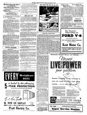 The Algona Upper Des Moines from Algona, Iowa on May 10, 1934 · Page 2