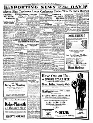 The Algona Upper Des Moines from Algona, Iowa on May 10, 1934 · Page 4