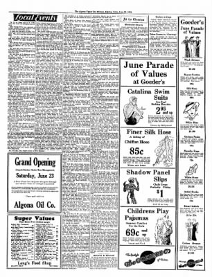 The Algona Upper Des Moines from Algona, Iowa on June 21, 1934 · Page 7