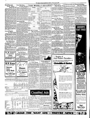 The Algona Upper Des Moines from Algona, Iowa on July 5, 1934 · Page 8