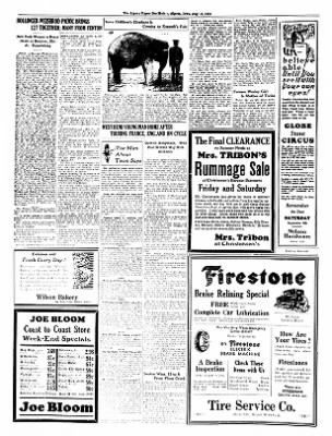 The Algona Upper Des Moines from Algona, Iowa on August 16, 1934 · Page 4