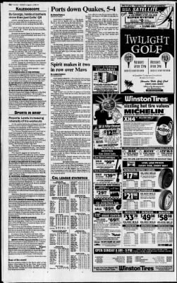 The San Bernardino County Sun from San Bernardino, California on August 1, 1993 · Page 83