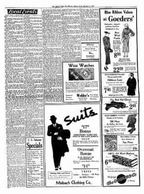 The Algona Upper Des Moines from Algona, Iowa on October 11, 1934 · Page 7