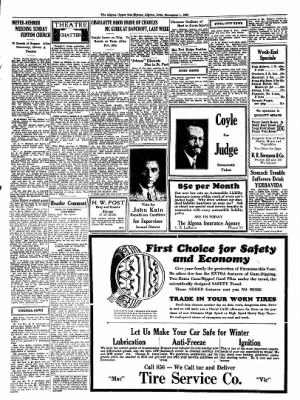 The Algona Upper Des Moines from Algona, Iowa on November 1, 1934 · Page 4