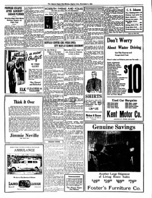 The Algona Upper Des Moines from Algona, Iowa on November 8, 1934 · Page 4
