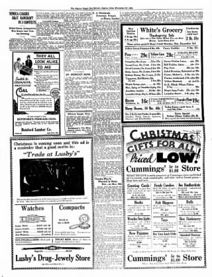 The Algona Upper Des Moines from Algona, Iowa on November 27, 1934 · Page 5