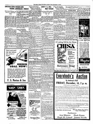 The Algona Upper Des Moines from Algona, Iowa on December 13, 1934 · Page 5