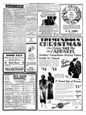 The Algona Upper Des Moines from Algona, Iowa on December 13, 1934 · Page 7