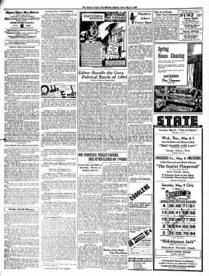 The Algona Upper Des Moines from Algona, Iowa on May 5, 1936 · Page 2