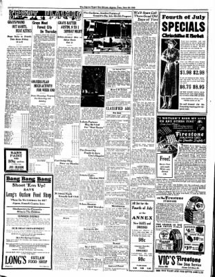 The Algona Upper Des Moines from Algona, Iowa on June 30, 1936 · Page 10