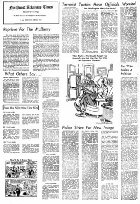 Northwest Arkansas Times from Fayetteville, Arkansas on April 24, 1974 · Page 4