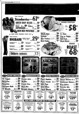 Northwest Arkansas Times from Fayetteville, Arkansas on April 24, 1974 · Page 12
