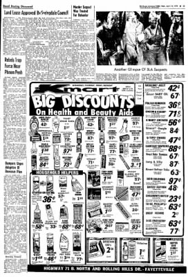 Northwest Arkansas Times from Fayetteville, Arkansas on April 24, 1974 · Page 22