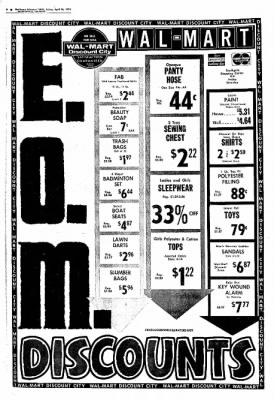 Northwest Arkansas Times from Fayetteville, Arkansas on April 26, 1974 · Page 6