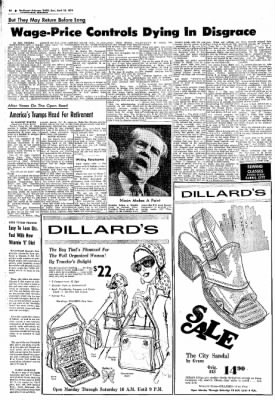 Northwest Arkansas Times from Fayetteville, Arkansas on April 28, 1974 · Page 8