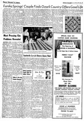 Northwest Arkansas Times from Fayetteville, Arkansas on April 28, 1974 · Page 25