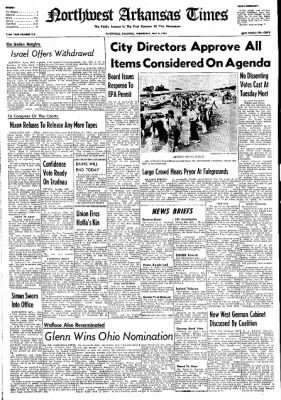 Northwest Arkansas Times from Fayetteville, Arkansas on May 8, 1974 · Page 1