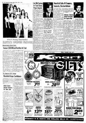 Northwest Arkansas Times from Fayetteville, Arkansas on May 8, 1974 · Page 19