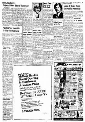 Northwest Arkansas Times from Fayetteville, Arkansas on May 8, 1974 · Page 20