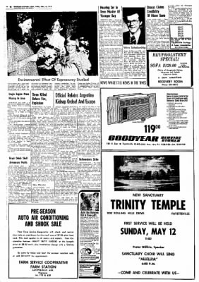 Northwest Arkansas Times from Fayetteville, Arkansas on May 10, 1974 · Page 18