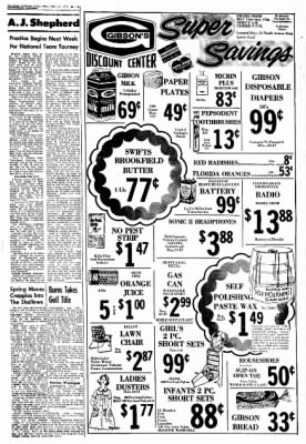 Northwest Arkansas Times from Fayetteville, Arkansas on May 12, 1974 · Page 19