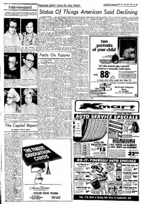 Northwest Arkansas Times from Fayetteville, Arkansas on May 19, 1974 · Page 22