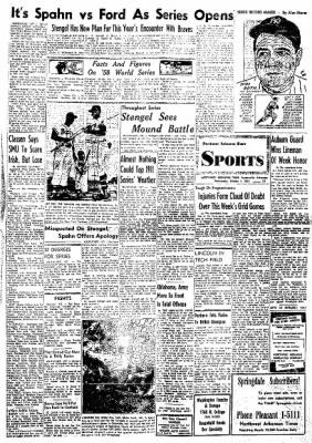 Northwest Arkansas Times from Fayetteville, Arkansas on October 1, 1958 · Page 16