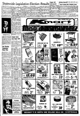 Northwest Arkansas Times from Fayetteville, Arkansas on May 29, 1974 · Page 3