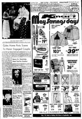 Northwest Arkansas Times from Fayetteville, Arkansas on May 29, 1974 · Page 9