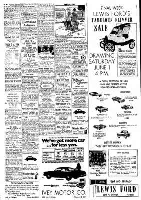Northwest Arkansas Times from Fayetteville, Arkansas on May 30, 1974 · Page 18