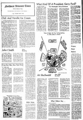 Northwest Arkansas Times from Fayetteville, Arkansas on June 6, 1974 · Page 4