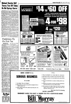 Northwest Arkansas Times from Fayetteville, Arkansas on June 10, 1974 · Page 9
