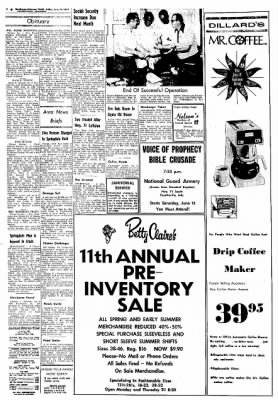 Northwest Arkansas Times from Fayetteville, Arkansas on June 14, 1974 · Page 2