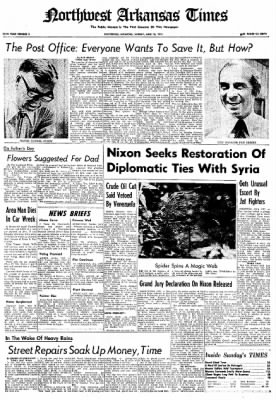 Northwest Arkansas Times from Fayetteville, Arkansas on June 16, 1974 · Page 1