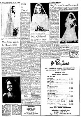 Northwest Arkansas Times from Fayetteville, Arkansas on June 16, 1974 · Page 8