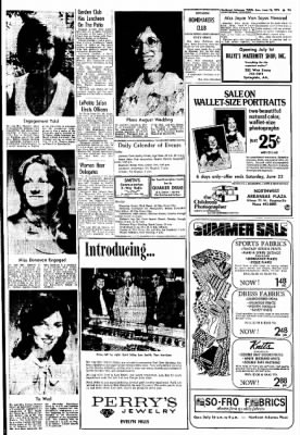 Northwest Arkansas Times from Fayetteville, Arkansas on June 16, 1974 · Page 9