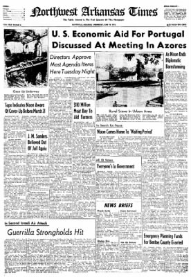Northwest Arkansas Times from Fayetteville, Arkansas on June 19, 1974 · Page 1