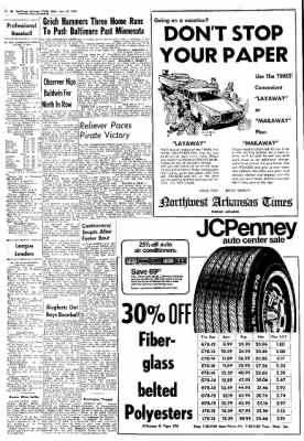 Northwest Arkansas Times from Fayetteville, Arkansas on June 19, 1974 · Page 16