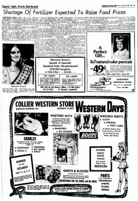 Northwest Arkansas Times from Fayetteville, Arkansas on June 23, 1974 · Page 3
