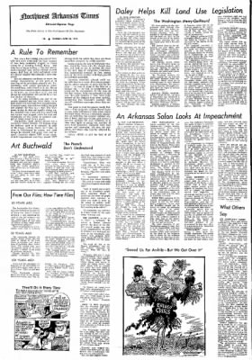 Northwest Arkansas Times from Fayetteville, Arkansas on June 23, 1974 · Page 4